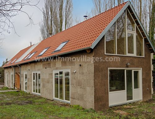#Gembloux : maison éco-bioclimatique à louer
