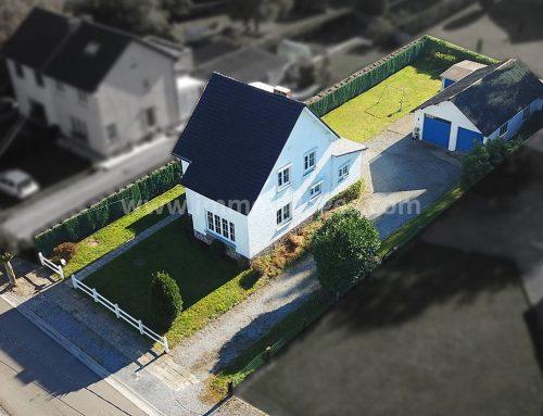 A vendre à GEMBLOUX : Agréable villa 4 façades comprenant 4 chambres …