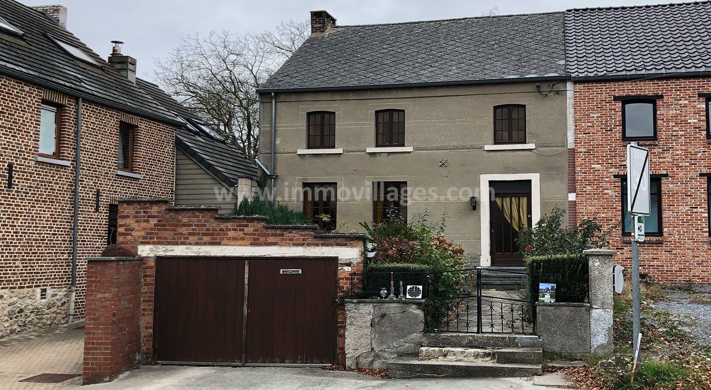 A vendre à RAMILLIES : Jolie maison villageoise avec 3 chambres…