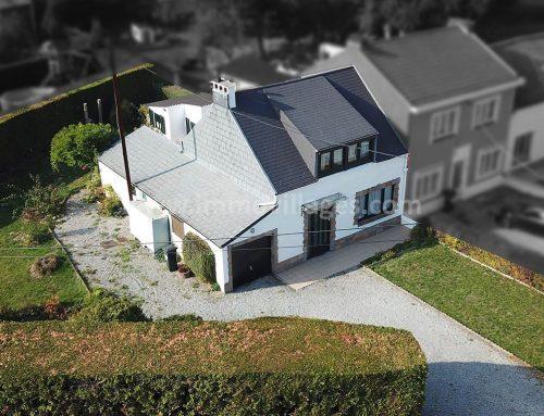 A vendre à GEMBLOUX : Adorable maison 3 façades avec 2 chambres …