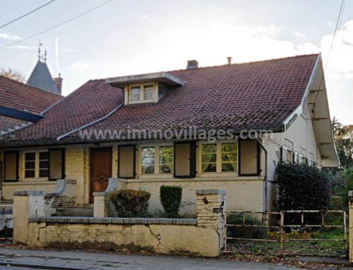 A vendre à GEMBLOUX : Idéal profession libérale, maison 4 chambres avec garage