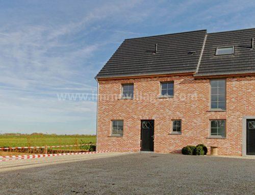 A vendre à WALHAIN : Excellente villa 3façades, 5 chambres avec une vue époustouflante…