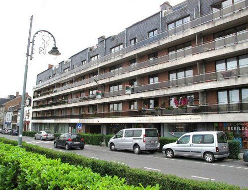 A louer à GEMBLOUX : Appartement 2 ch. + cave idéalement situé à 2 pas de la gare et des commerces