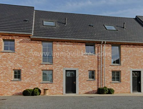 A vendre à WALHAIN : Excellente villa 2 façades, 5 chambres avec une vue époustouflante…