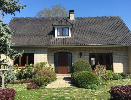 A vendre à GEMBLOUX : Excellente villa 4F sur plus de 18 ares de terrain