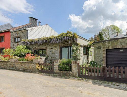 A vendre à GEMBLOUX : Agréable maison villageoise située au bout d'une rue en «cul de sac» …