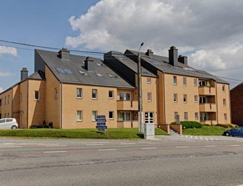 A louer à EGHEZEE : Excellent appartement 2 chambres à 4′ du centre d'Eghezée…